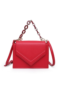 Urban Expressions Red Crossbody Bag - Product List Image