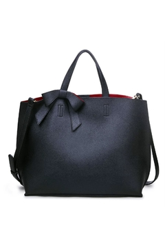Urban Expressions Red Interior Tote - Product List Image
