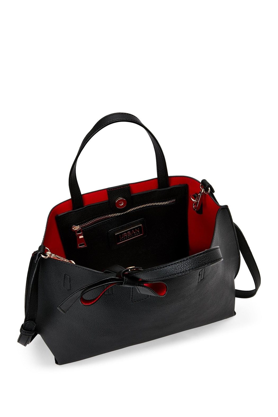 Urban Expressions Red Interior Tote - Front Full Image
