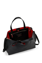 Urban Expressions Red Interior Tote - Front full body