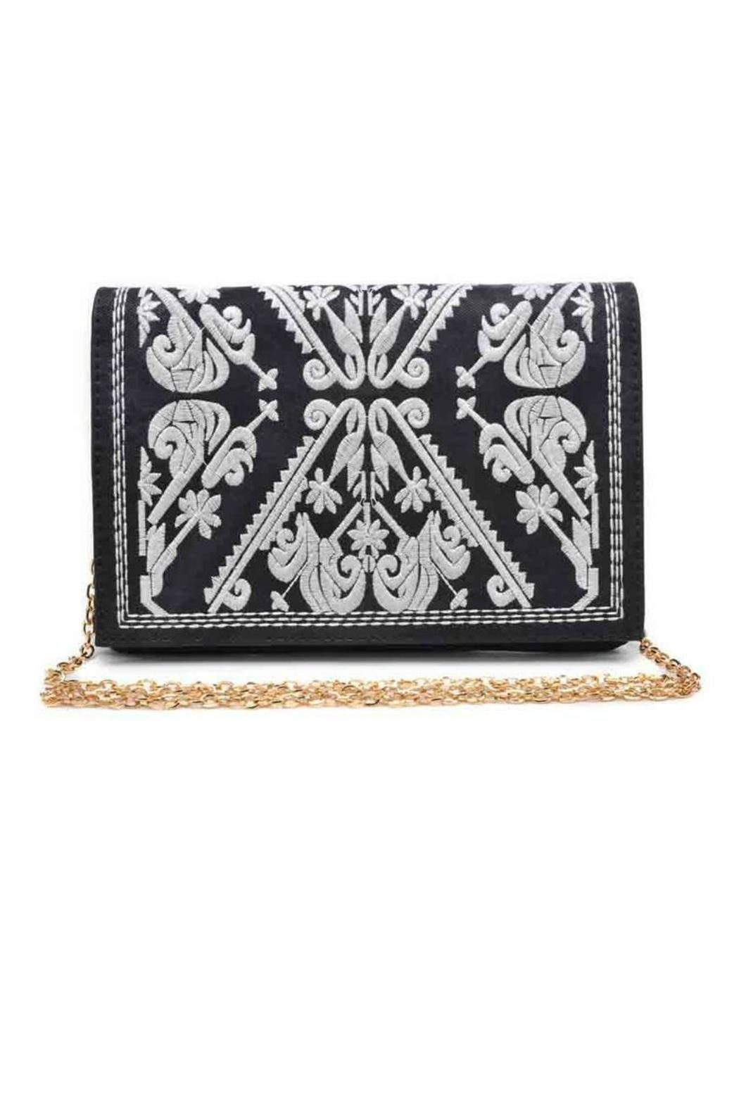 Urban Expressions Regina Embroidered Clutch - Main Image