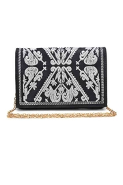 Urban Expressions Regina Embroidered Clutch - Product Mini Image