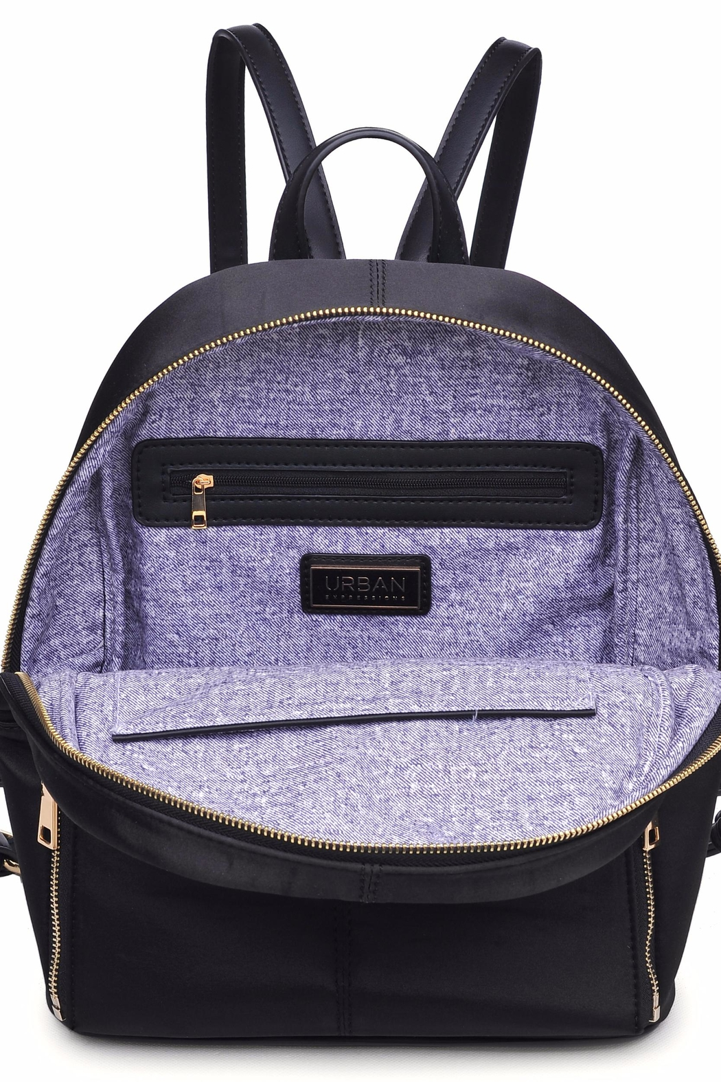 Urban Expressions Rio Embroidered Backpack - Back Cropped Image