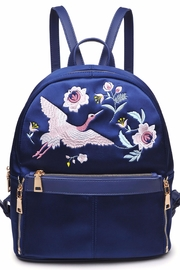 Urban Expressions Rio Embroidered Backpack - Product Mini Image