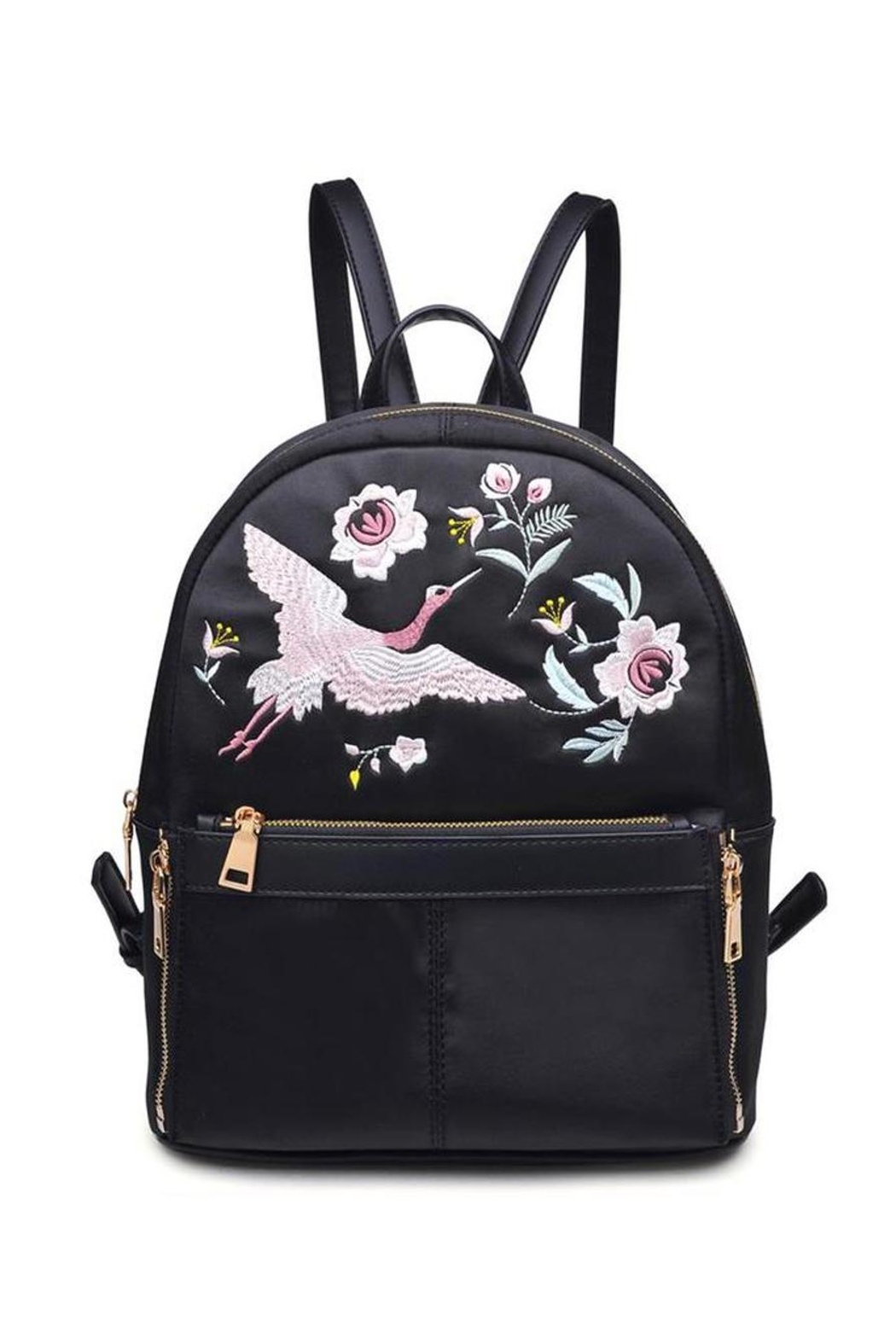 Urban Expressions Rio Embroidered Backpack - Front Full Image