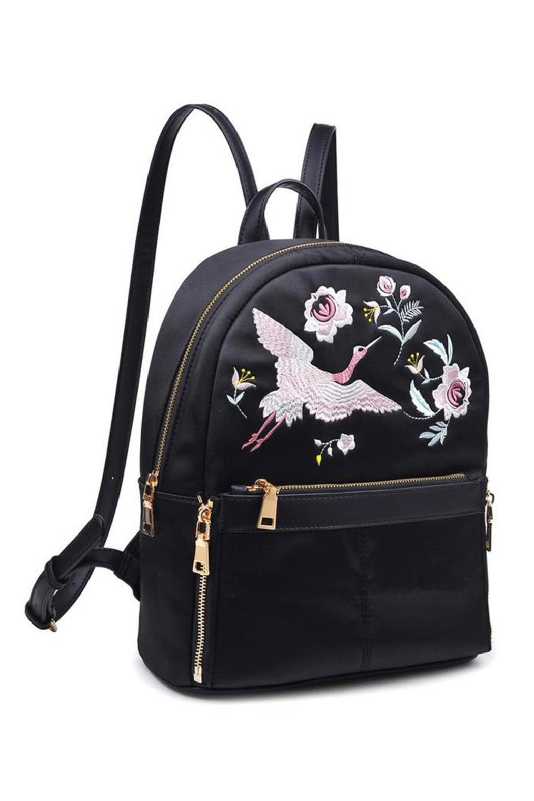 Urban Expressions Rio Embroidered Backpack - Main Image
