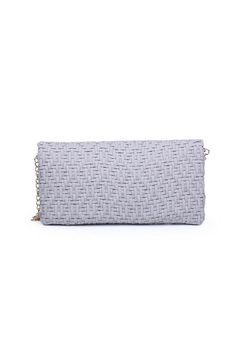 Urban Expressions Rooney Woven Clutch - Alternate List Image
