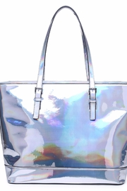 Urban Expressions Shiny Pegasus Tote - Front cropped