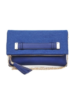 Shoptiques Product: Slate Denim Clutch
