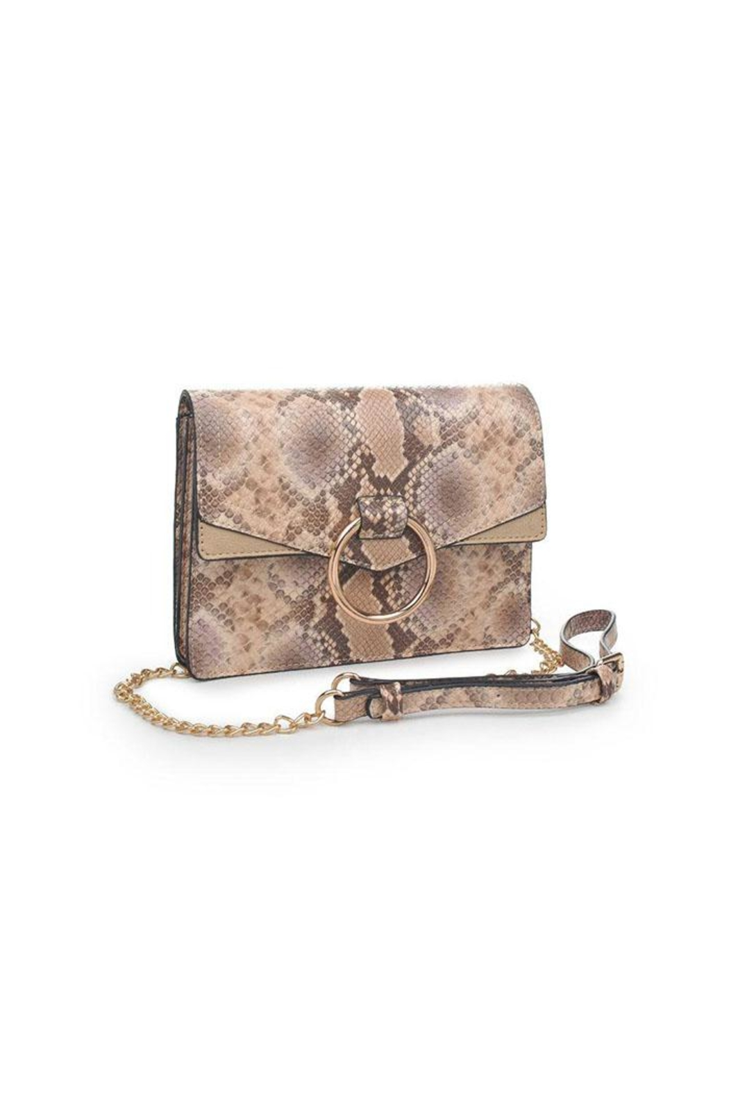 Urban Expressions Snake Crossbody - Front Full Image