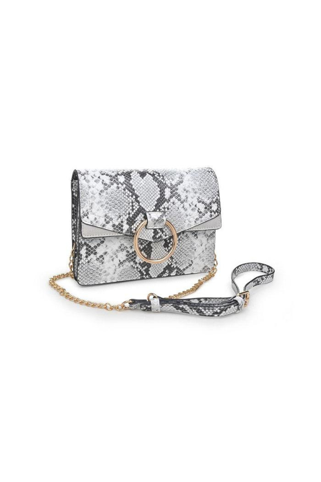 Urban Expressions Snake Print Crossbody - Side Cropped Image