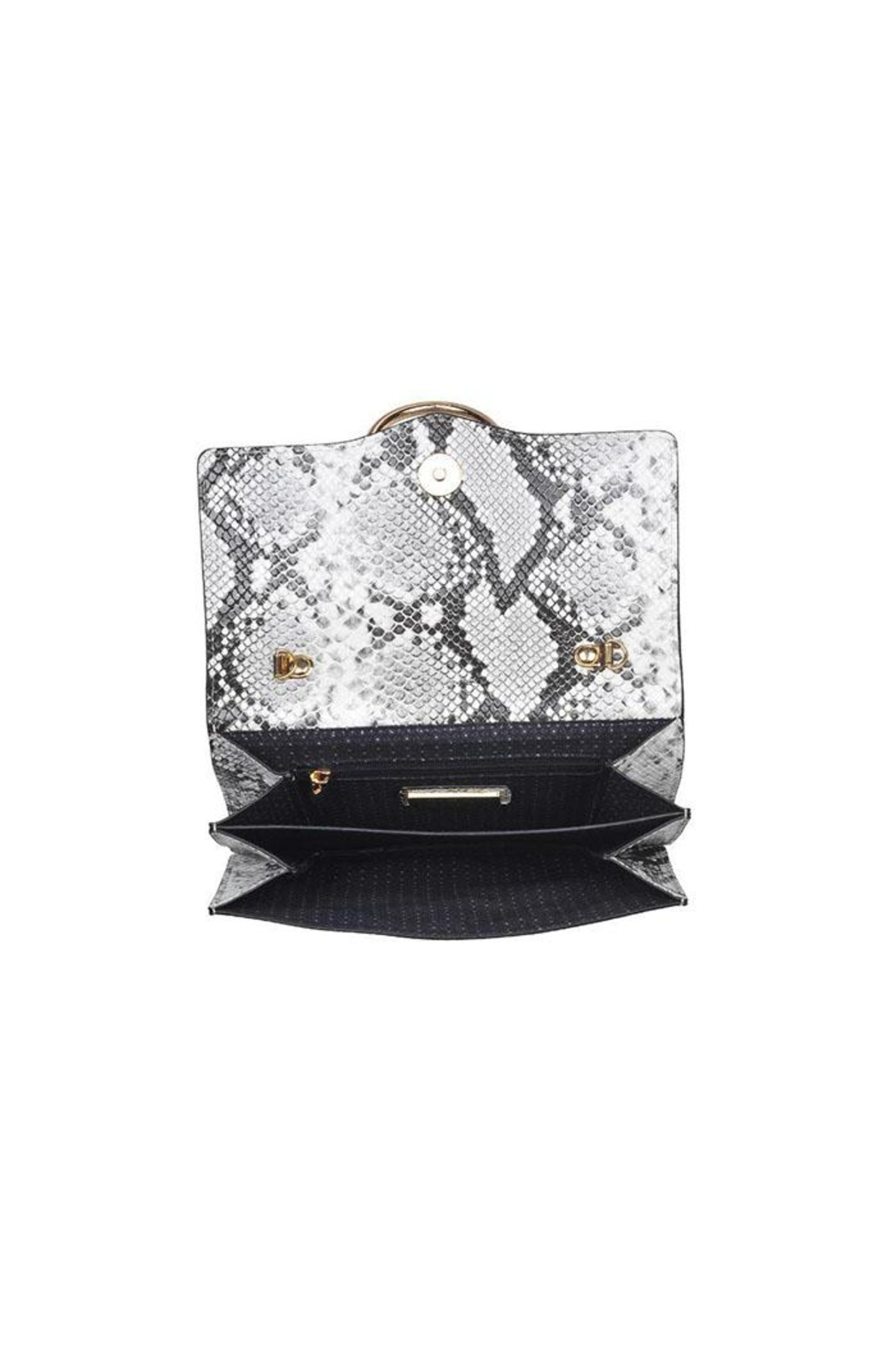 Urban Expressions Snake Print Crossbody - Back Cropped Image