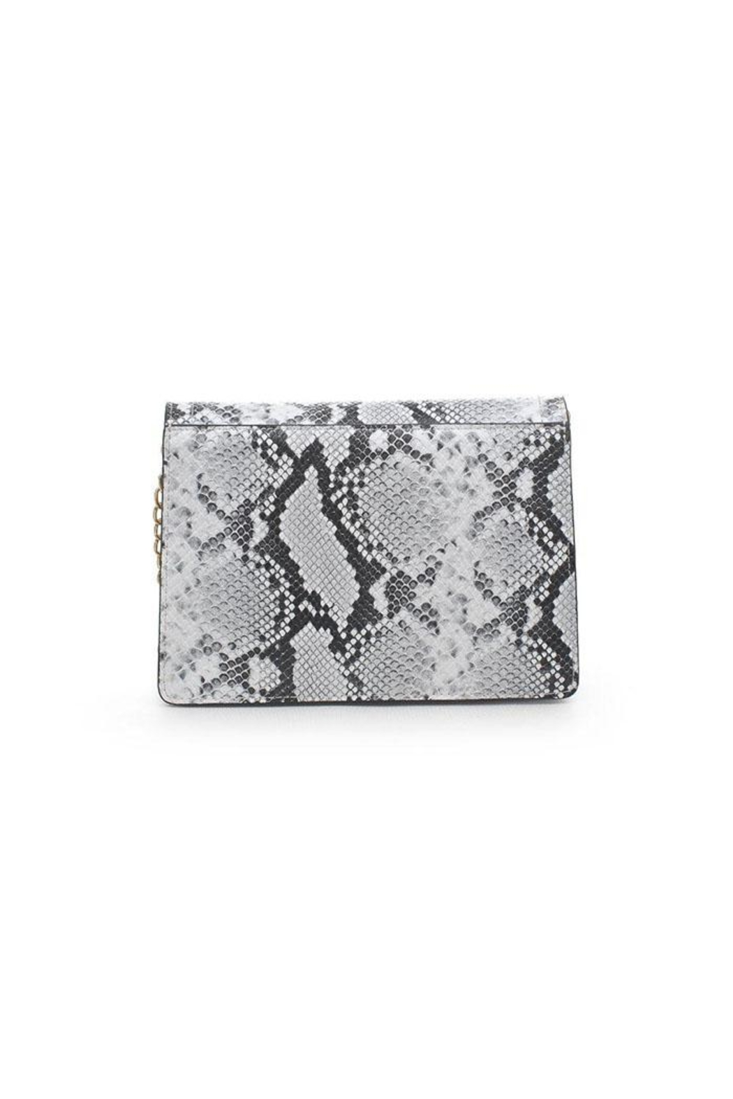 Urban Expressions Snake Print Crossbody - Front Full Image