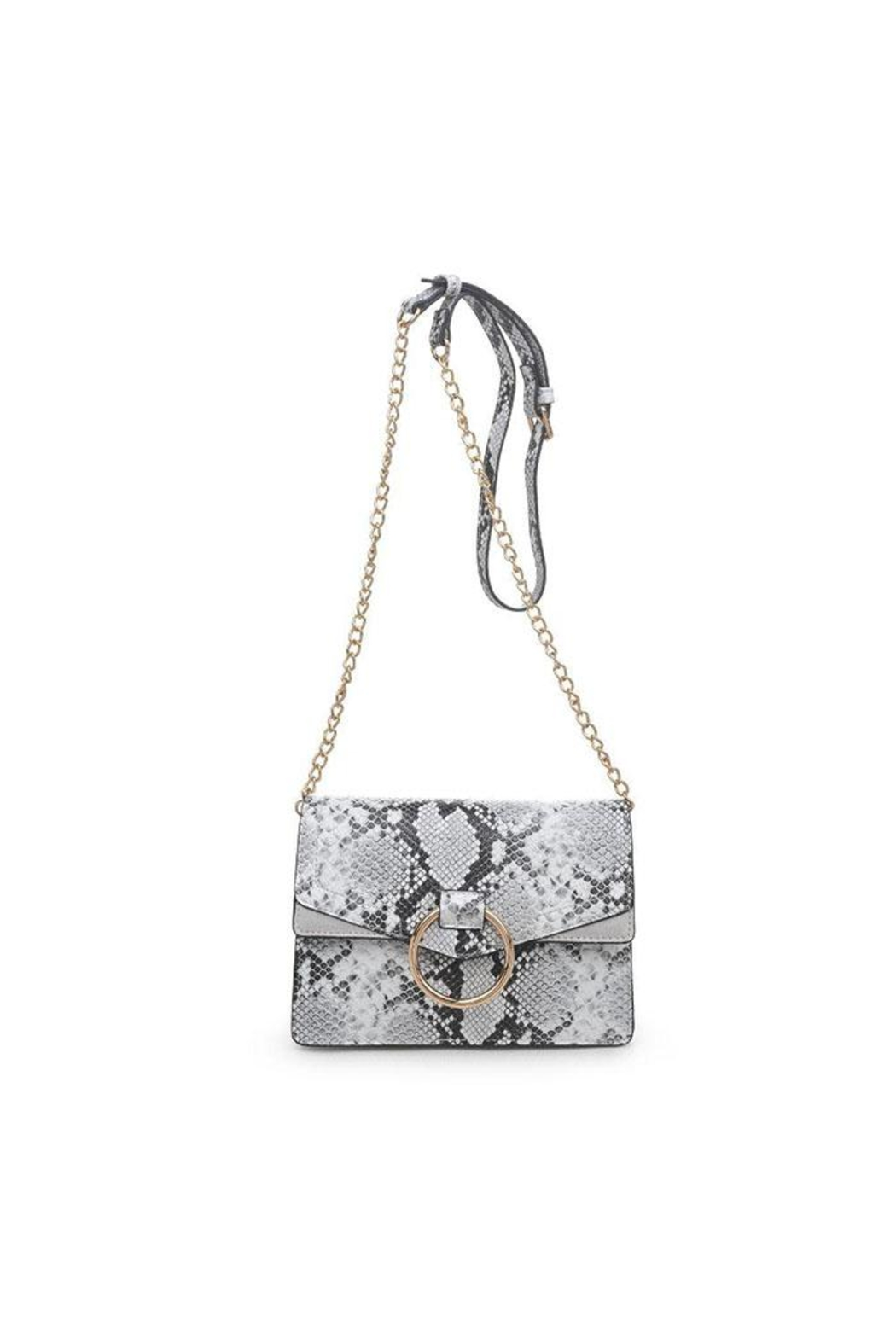 Urban Expressions Snake Print Crossbody - Front Cropped Image