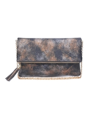 Urban Expressions Soleil Tassel Clutch - Front cropped