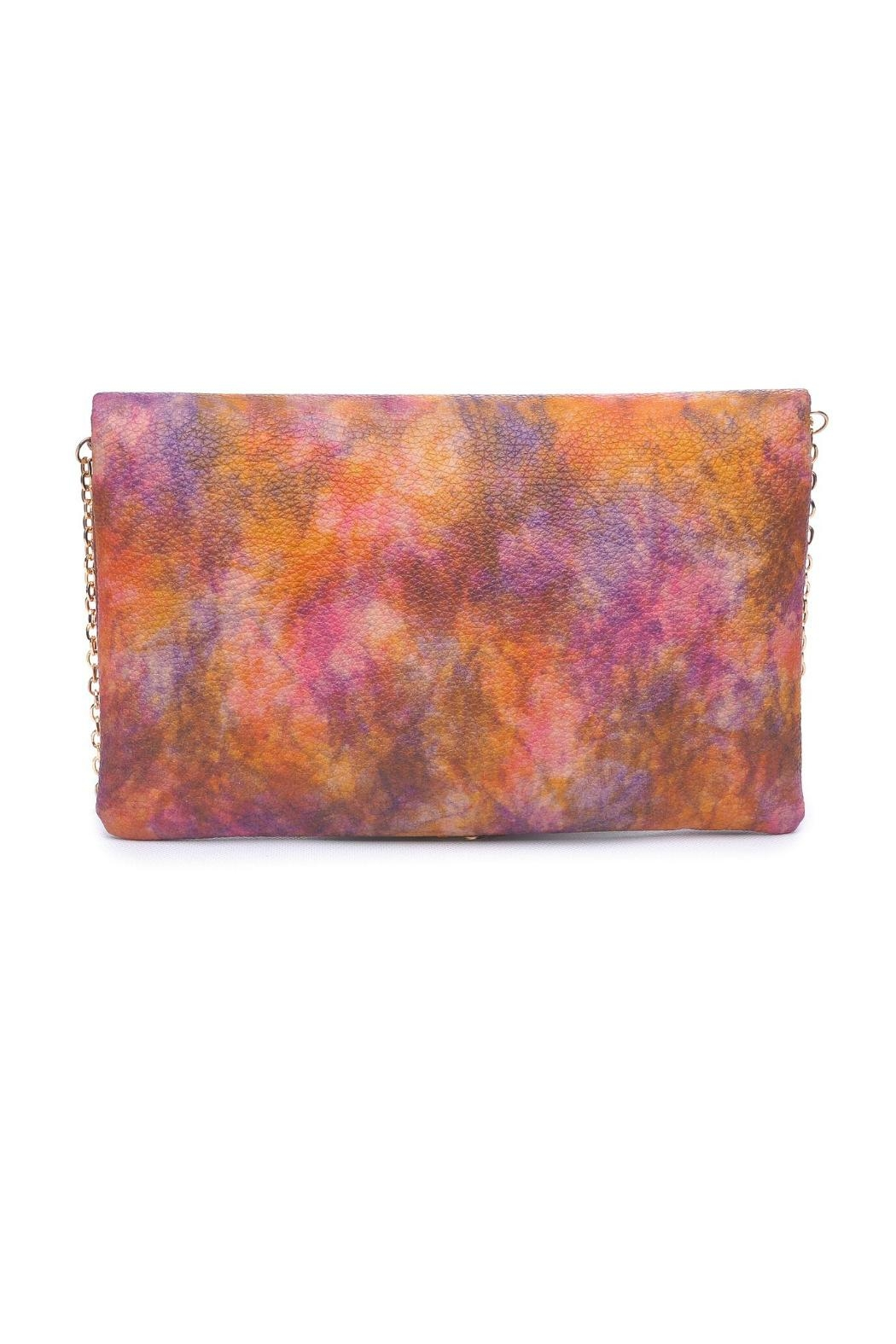 Urban Expressions Soleil Tassel Clutch - Front Full Image