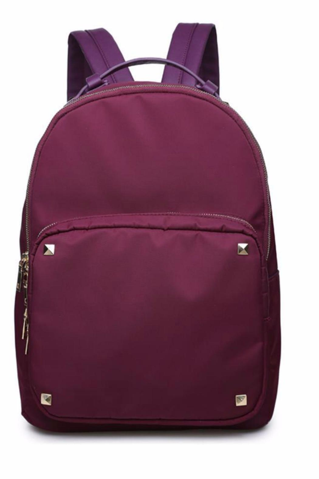 Urban Expressions Spike Backpack - Front Cropped Image