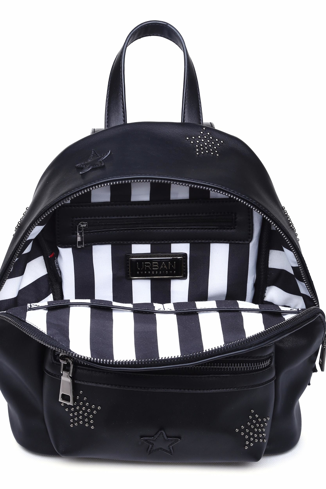 Urban Expressions Star-Studded Backpack - Back Cropped Image