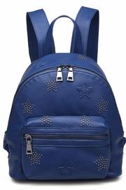 Urban Expressions Star-Studded Backpack - Front cropped