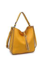 Urban Expressions Studded Mustard Bag - Product Mini Image