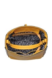 Urban Expressions Studded Mustard Bag - Side cropped