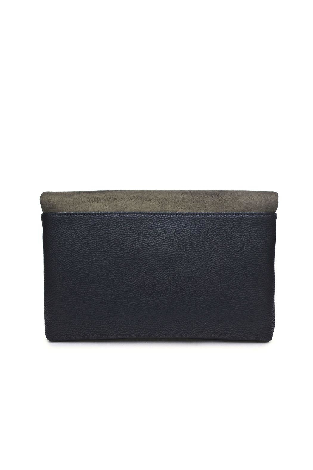 Urban Expressions Suede Foldover Clutch - Side Cropped Image