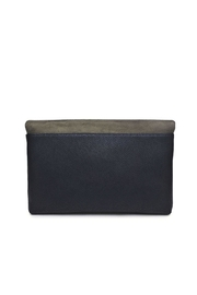 Urban Expressions Suede Foldover Clutch - Side cropped