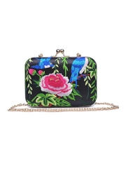 Urban Expressions Tango Box Clutch - Front cropped