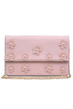Shoptiques Product: Vegan Leather Flower Clutch