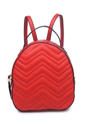 Urban Expressions Vegan Leather Backpack - Product Mini Image