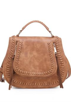 Shoptiques Product: Vegan Saddle Bag