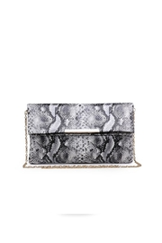 Urban Expressions Vegan Snakeskin Clutch - Product Mini Image