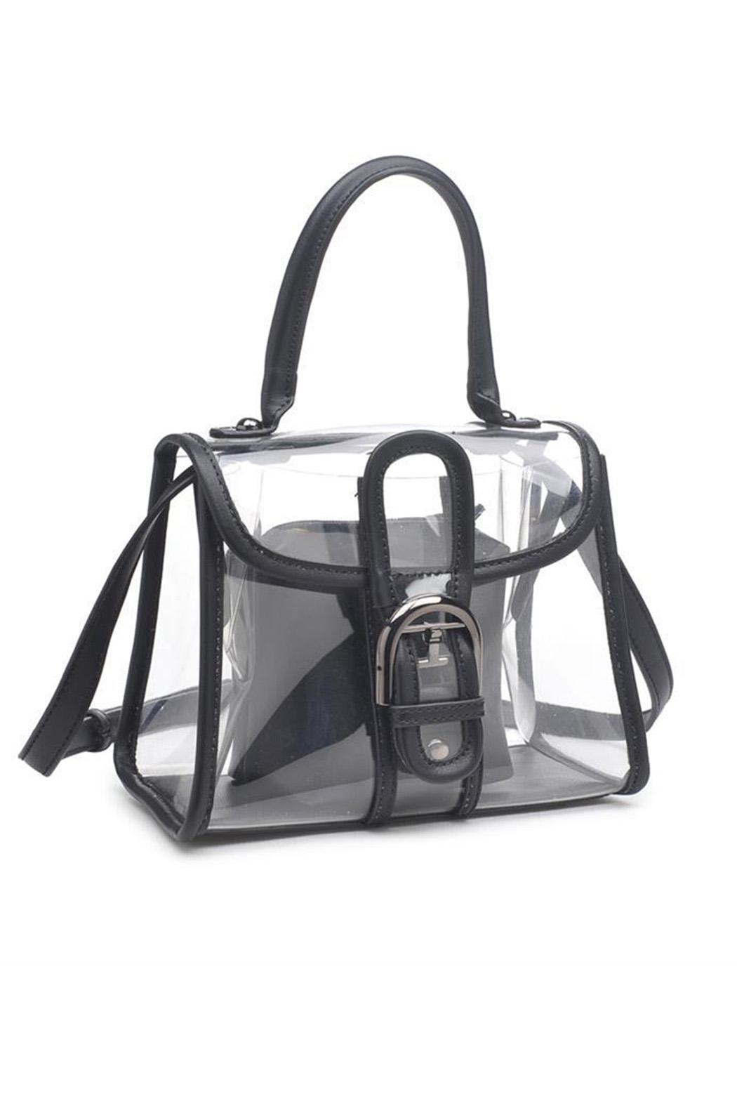 Urban Expressions Yoko Clear Bag - Front Cropped Image