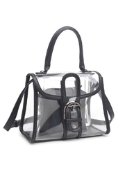 Urban Expressions Yoko Clear Bag - Product Mini Image