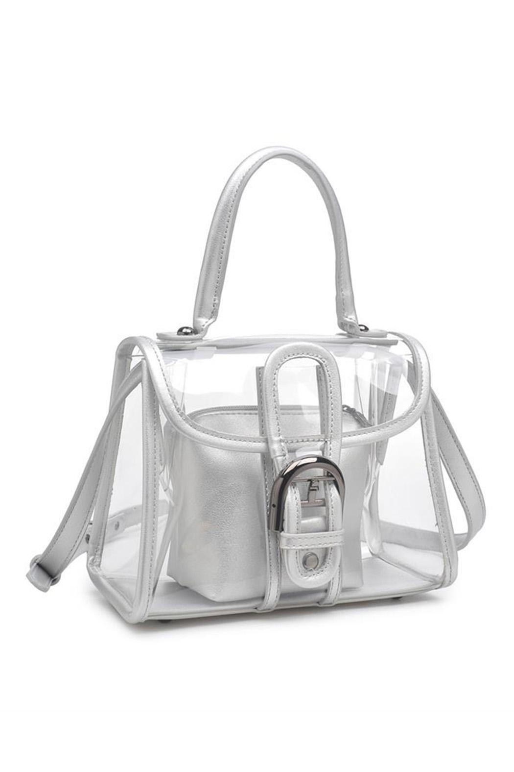 Urban Expressions Yoko Clear Bag - Side Cropped Image