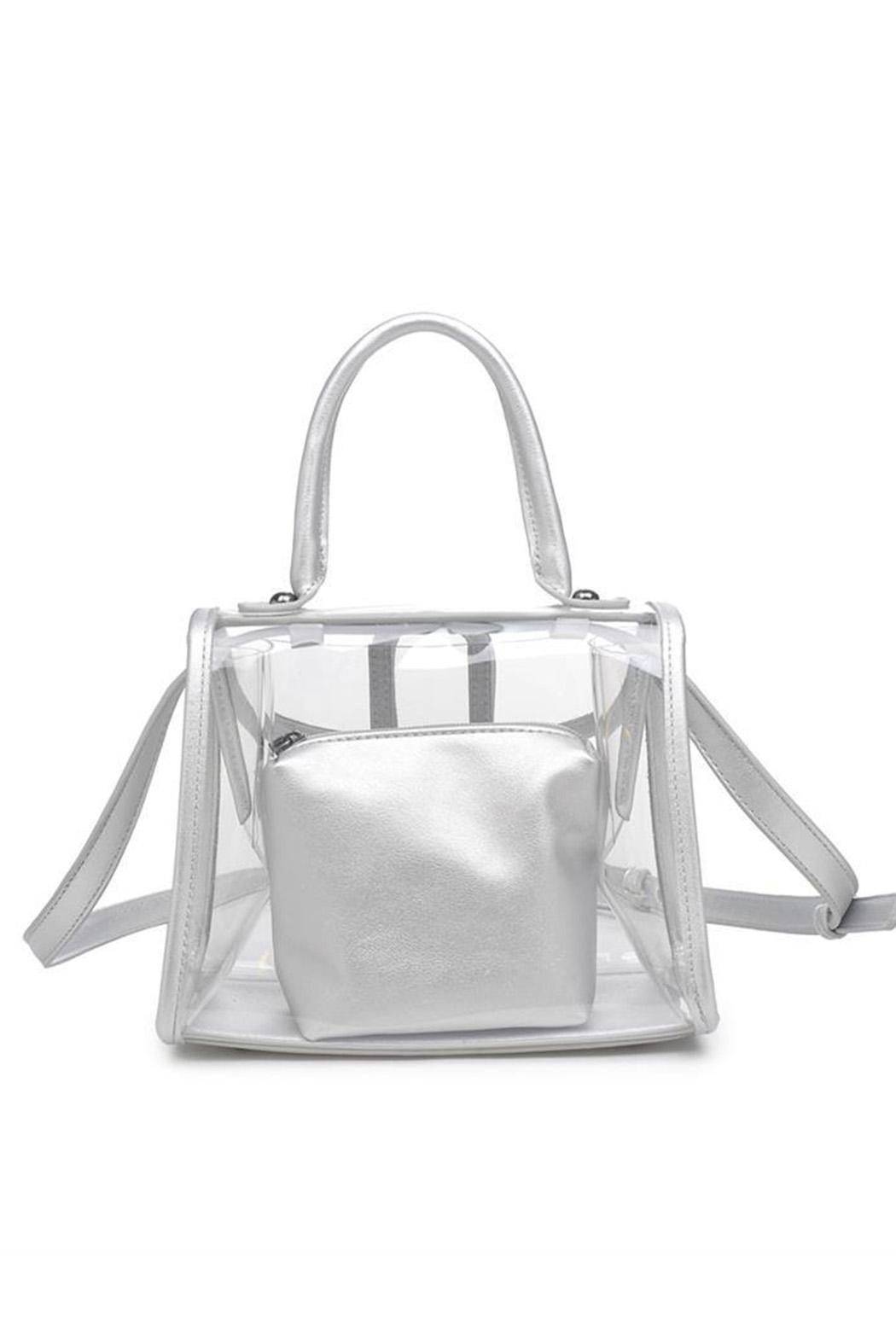 Urban Expressions Yoko Clear Bag - Front Full Image