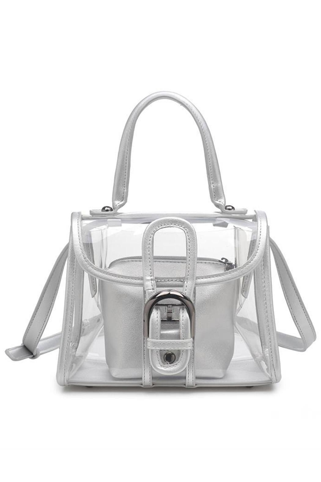 Urban Expressions Yoko Clear Bag - Back Cropped Image