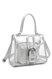 Urban Expressions Yoko Clear Bag - Front cropped