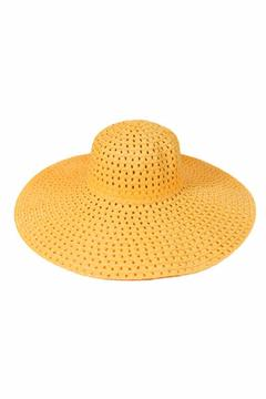 Shoptiques Product: Yellow Floppy Hat