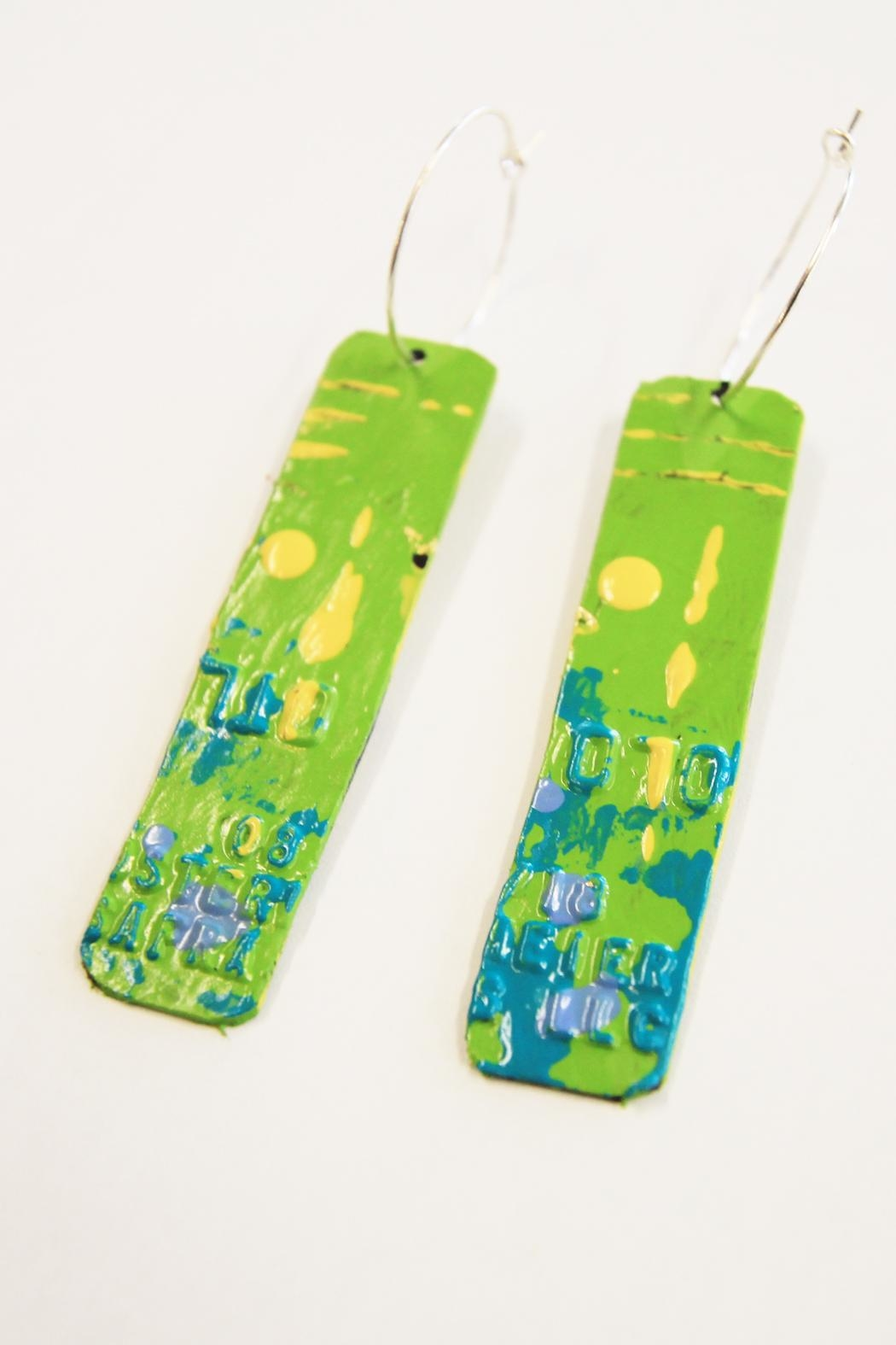 Urban Sassafras Credit Card Earrings - Front Full Image