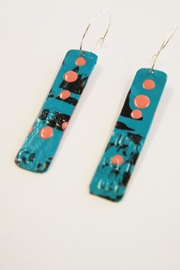 Urban Sassafras Credit Card Earrings - Front full body