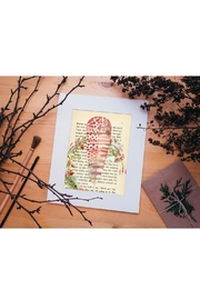 Urban Sassafras Feather Watercolor Bookpage - Front full body