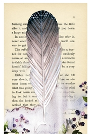 Urban Sassafras Feather Watercolor Bookpage - Product Mini Image