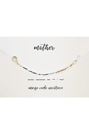 Urban Sassafras Morse Code Necklace - Product Mini Image