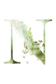 Urban Sassafras N Watercolor Letter Print - Product Mini Image