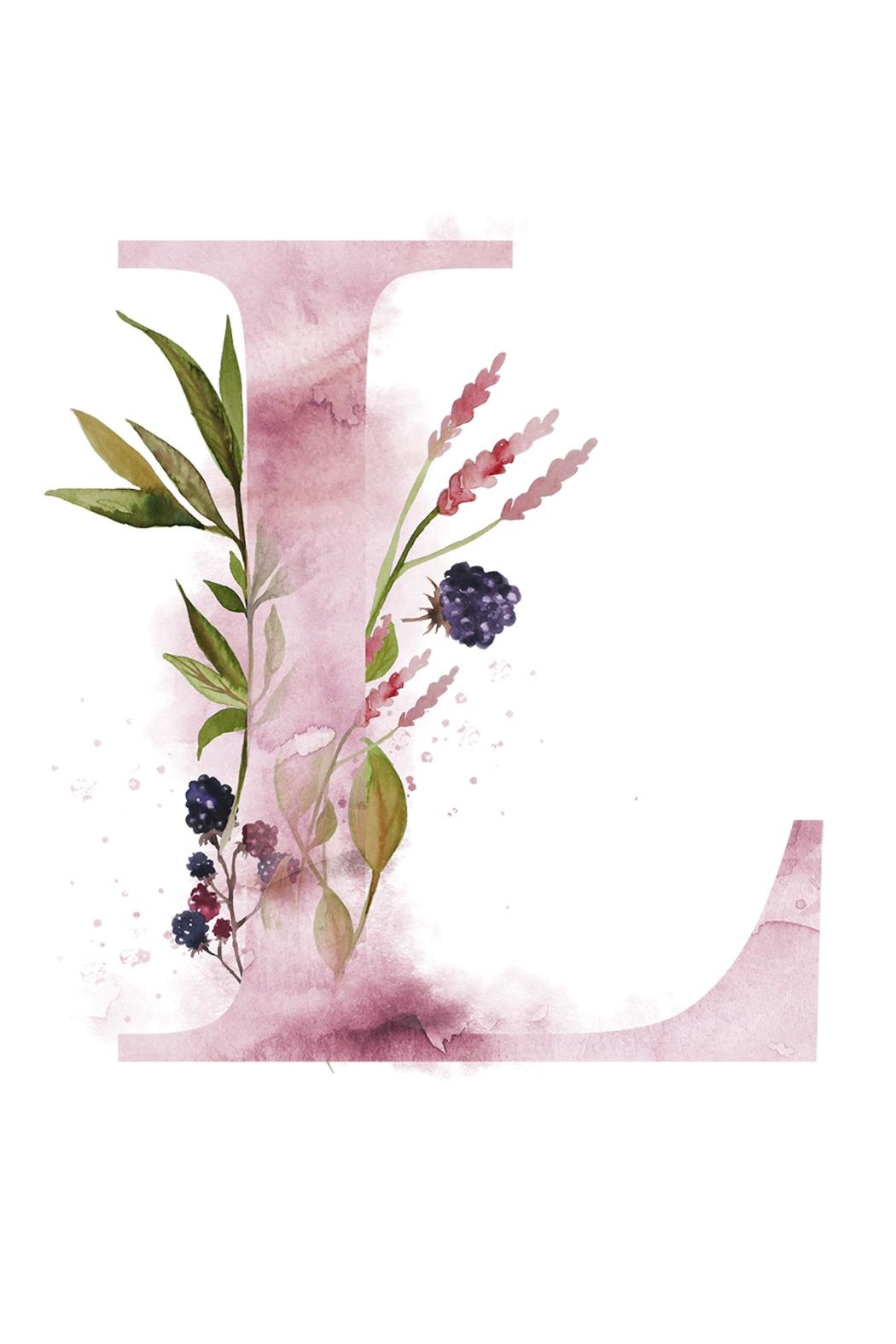 urban sassafras l watercolor letter print from illinois by urban sassafras  u2014 shoptiques