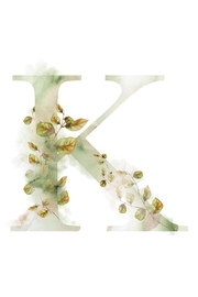 Urban Sassafras K Watercolor Letter Print - Product Mini Image