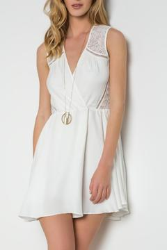 Urban Touch Crossover Skater Dress - Product List Image
