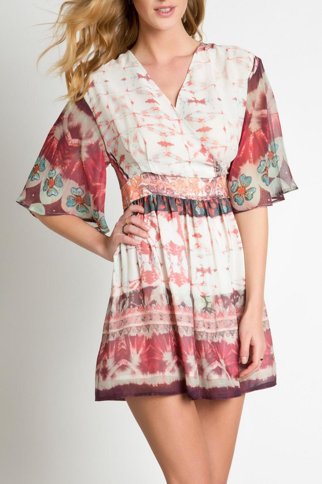 Urban Touch Ethnic Print Dress - Main Image