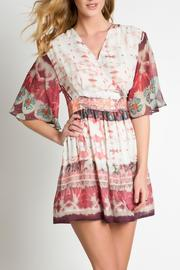 Urban Touch Ethnic Print Dress - Product Mini Image